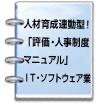 人材育成連動型!「評価・人事制度マニュアル」IT・ソフトウェア業